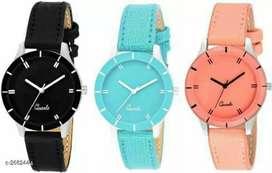Comfy trendy designer women's watches combo