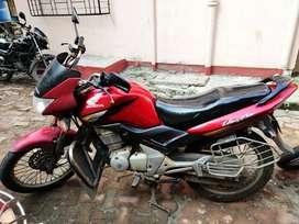 Red Honda Unicorn