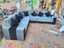L shape sofa (new brand)