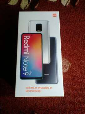 Want to sell Redmi note 9 pro 6gb 128gb