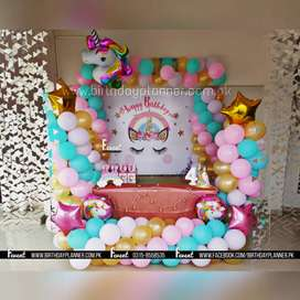 Balloon Decoration Karachi Birthday Planner! Call now