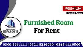 Fully Furnished Room on Rent With 5 Star Facilities at Faisalabad
