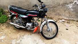 Honda cd70 lush condition m17 rawalpindi num me hy price full & final