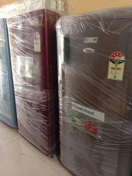 5 year warranty Whirlpool single door fridge price:- 6500 RS