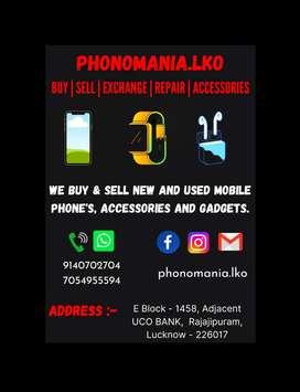 phonomania.lko We Buy & Sell Second Hand Phone's
