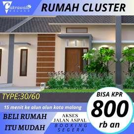 Rumah cluster ber KPR subsidi hanya di sini