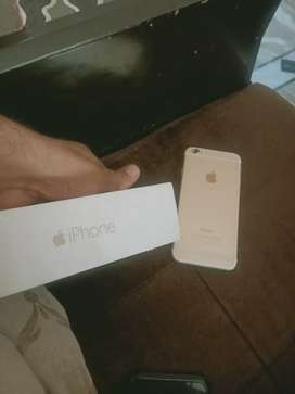 I phone 6 64 gb with box charger brand new condition