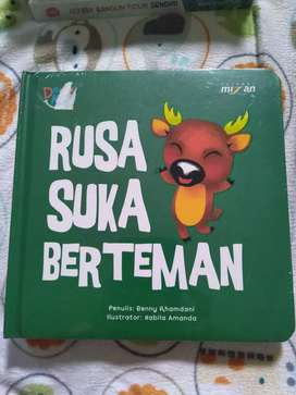 "Buku anak"" Rusa suka berteman"" berkurang"
