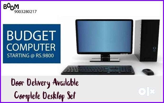 SUPER OFFER BEST For HOME Desktop Set Complete with Warranty & Bill St 0
