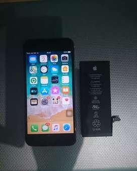 battrey iphone 6G Original + PASANG