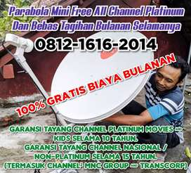 PARABOLA MINI FREE ALL CHANNEL PLATINUM MLONGGO KABUPATEN JEPARA