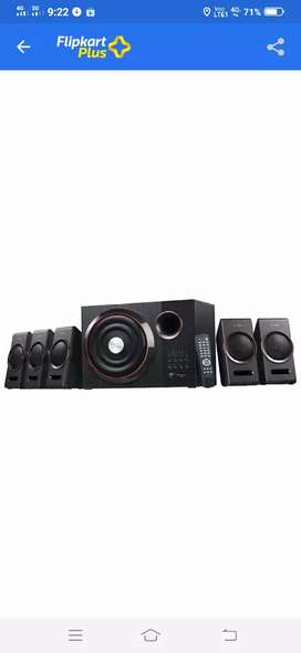 F&D F3000U 5.1 HOME THEATER SYSTEM WITH MICRO SD,USB SUPPORT FOR SALE