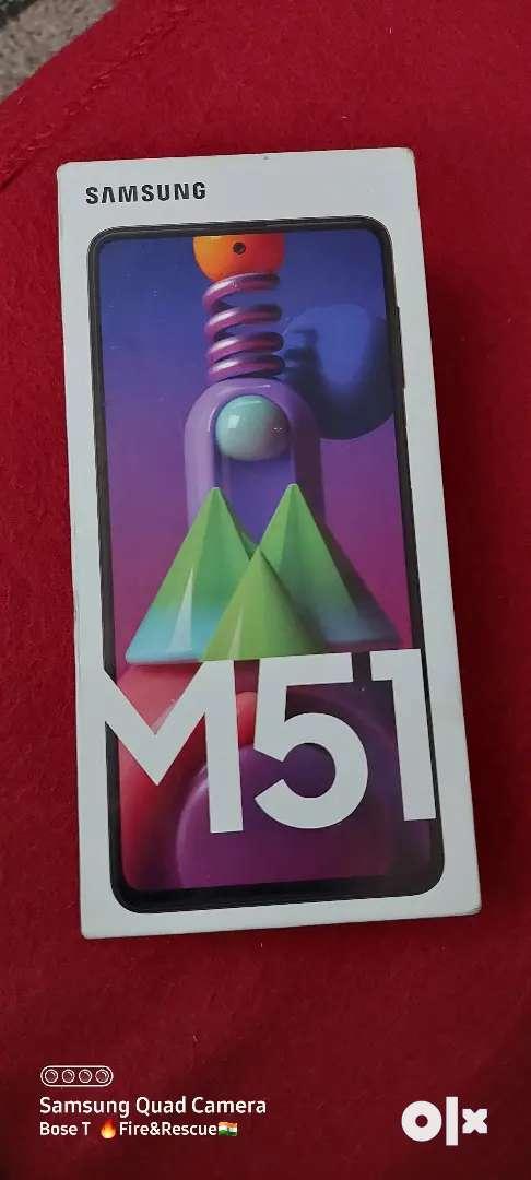 Samsung M51/8GB Ram/128 GB Storage/Colour-Black/7000MAh Battery 0