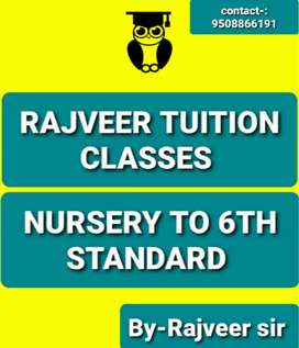 Teaching all subject nursery to 6th English medium CBSE BOARD
