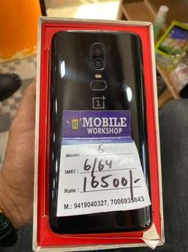 Oneplus  6,  6/64 mint condition