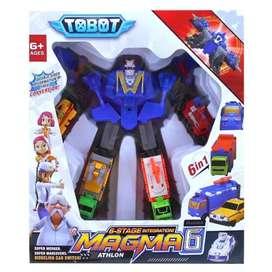 Mainan Anak tobot magma 6 athlon