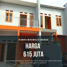 Rumah minimalis di Kebagusan Pasar Minggu Jagakarsa Jakarta Selatan