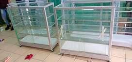 lagi promo etalase kaca baru jual harga agen siap antar k256