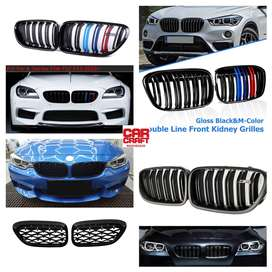 BMW bumper M grills for all modes 6