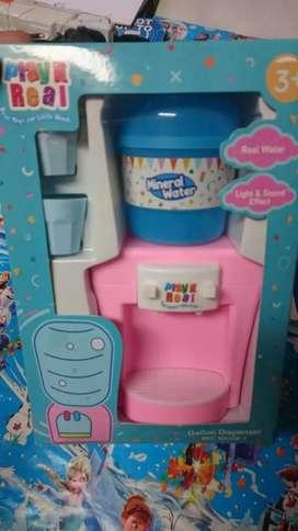 Mainan anak galondispenser gratis batre siap kirim2