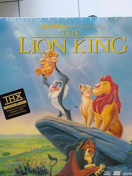 LaserDisc Film Disney's THE LION KING (1 disc= 88 mins)