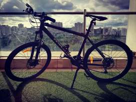 Btwin Rockrider 500 (Grey) (Large) | 2 years old | PRICE NEGOTIABLE