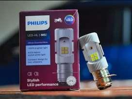 Lampu led motor philips . putih terang. baru