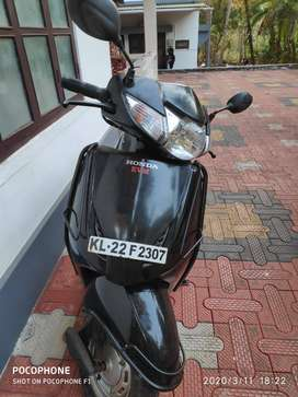 Single owner - Honda Activa 2013 model - Black color color
