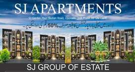 SJ APARTMENTS HOPPOSITE TO DHA PHASE 10 HEIR STOP MAIN BEDIAN LAHORE