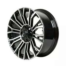 Velg terbaru dari HSR Wheel R20 utk Pajero Fortuner Starda Hilux dll