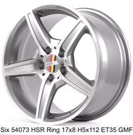 For sale velg racing hsr mercy r17