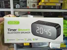 delivery spiker speaker bluetooth robot timer rb550 led display alarm