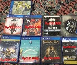 Kaset PS4 Pemakaian Pribadi