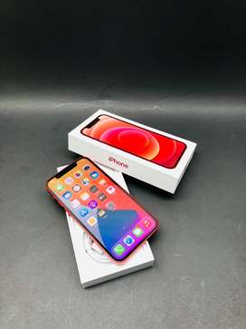 IPHONE 12 128GB RED 2 MONTHS APPLE WARRANTY