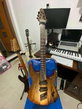 Jual Gitar Multiscale (Custom)
