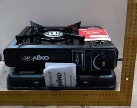 NIKO Kompor Gas Portable 2 in 1 Bisa Gas Kaleng Bisa Gas LPG