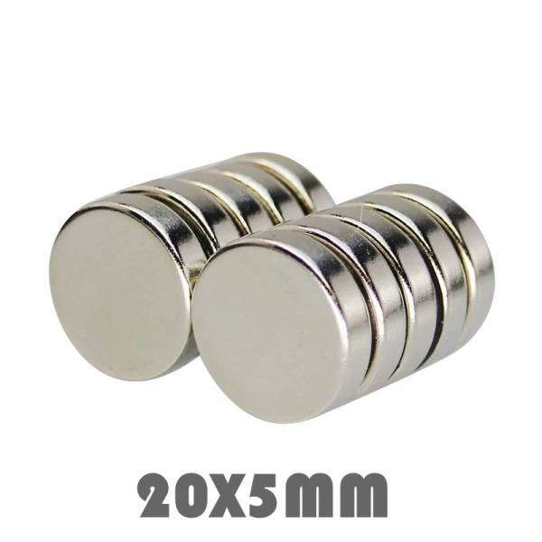 Neodymium Magnet 20 x 5mm N52 Strong Magnet 0