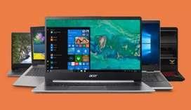 Dell hp lenovo acer asus laptops core i 3 i 5 i 7 processor c v v.