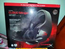 Headset earphone gaming terbaik dikelasnya HYPER X CLOUD STINGER