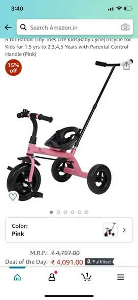 Kids cycle for girls brand new suitable fr 1.5 years to 5 years