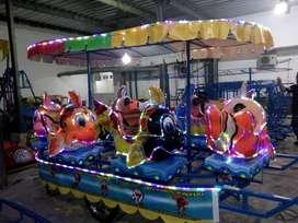 odong odong kereta panggung ikan nemo lengkap lampu UK