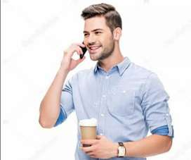 Required male telecallers fluent in English&Hindi for inbound process