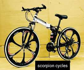 Brand New folding bicycls with speed gears