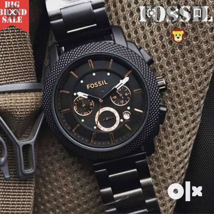 FOSSIL BRANDED CHAIN PACKED WATCH CASH ON DELIVERY PRICE NEGOTIABLE .. 0