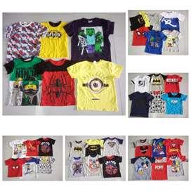 Kids pajama Boys tshirt Girls frock export surplus Tiruppur