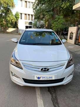 Hyundai Fluidic Verna 1.6 VTVT S (O) Automatic, 2015, Petrol
