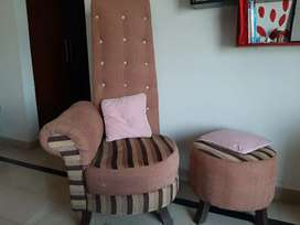 Bedroom chairs for sale with stool