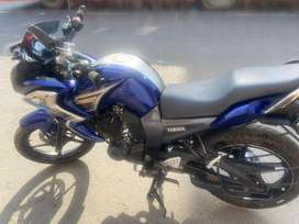 Blue color Fazer in good condition. Both tyres are in new condition.
