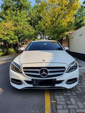Mercedes benz c200 avantgarde 2016 km 20rb