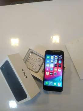 IPHONE 7-128GB BLACK COLOUR AVAILABLE